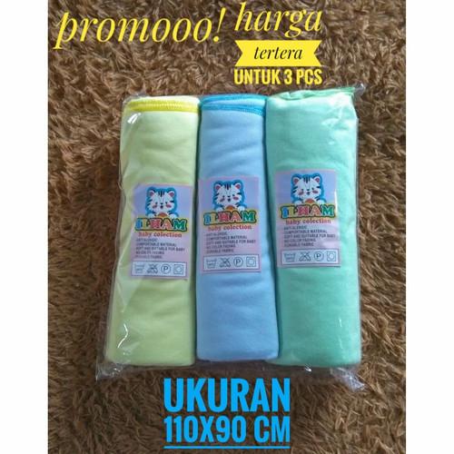 Foto Produk 3 pcs bedong bayi/pernel 110x90 cm - seri muda dari ihsan_baby