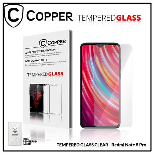 Foto Produk Redmi Note 8 Pro - COPPER TEMPERED GLASS FULL CLEAR dari Copper Indonesia