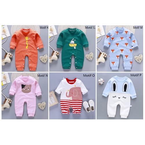 Foto Produk Jumper Bayi / Jumper Baby / Romper Bayi Imut - MOTIF M dari M&K ( Mom & Kids)
