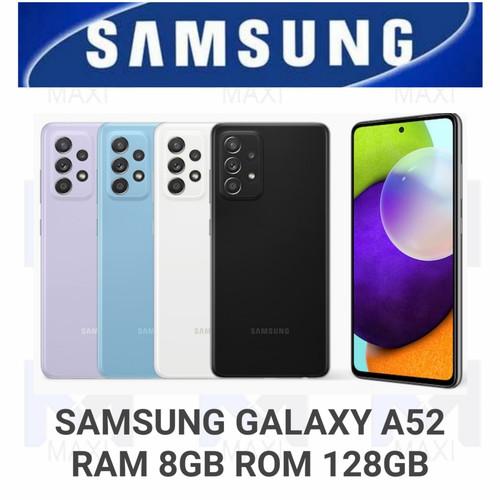 Foto Produk Samsung Galaxy A52 8/128 Ram 8GB Rom 128GB Garansi Resmi - WHITE dari Maxi phone cell
