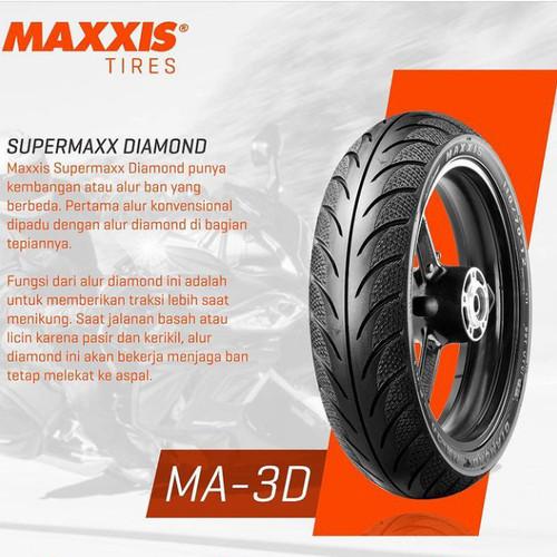 Foto Produk BAN TUBELESS MAXXIS DIAMOND / MA3DN - MATIC RING 14 - [PILIH VARIAN] - 70/90, ring 14 dari MOTO 1