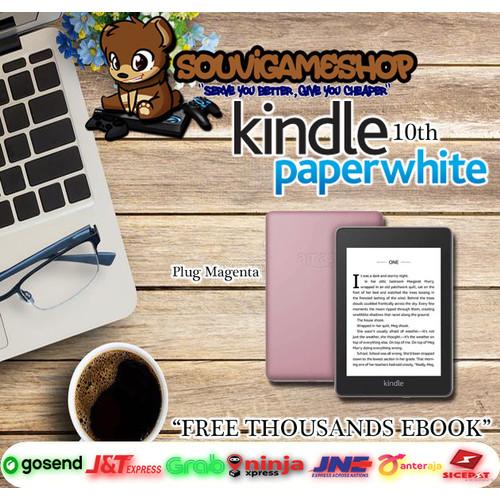 Foto Produk Amazon Kindle Paperwhite 10th Gen EBook Reader Waterproof 8GB Ads - PLUM MAGENTA dari souvigameshop