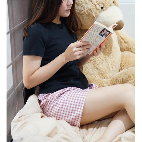 Foto Produk Celana Pendek Hot Pants Piyama Tidur Wanita Katun Jepang Murah dari Emvee Store