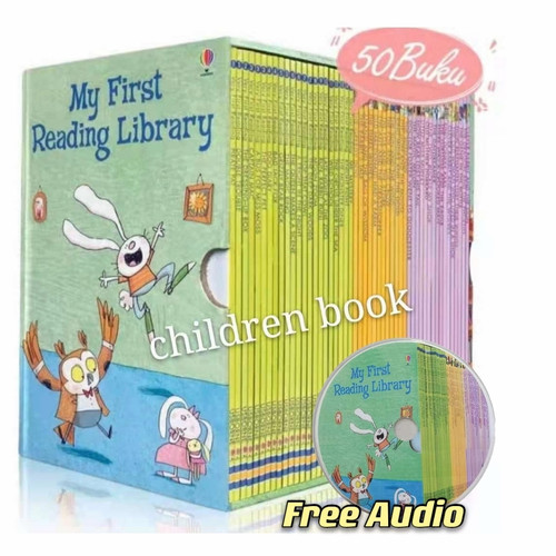 Foto Produk Usborne My First Reading Library : 1 set isi 50 buku dari children book
