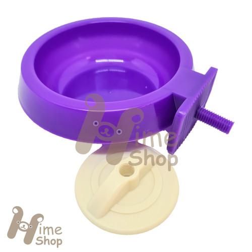 Foto Produk Easy Pet Dish PF 110 Tempat Makan Gantung Hamster Kelinci Marmut Plast - Ungu dari Hime petshop