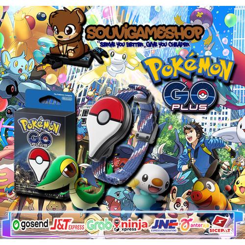 Foto Produk PALING MURAH !! Pokemon GO Plus PoGO+ AUTO VERSION JAM POKEMON GO dari souvigameshop