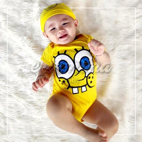 Foto Produk baju jumper bayi spongebob - S dari ermon baby and kids