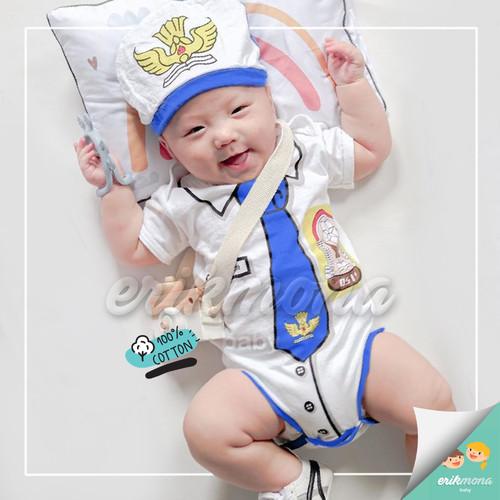 Foto Produk baju bayi jumper bayi karakter SMP lucu - S dari ermon baby and kids