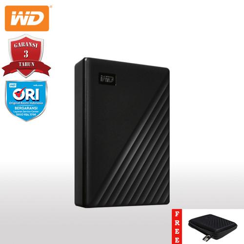 Foto Produk WD My Passport Hardisk Eksternal 4TB - Hitam + Pen + Hardcase WD [FS] dari Kenkez-com