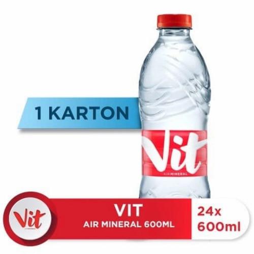 Foto Produk VIT air mineral 600ml isi 24botol dari Centraprint