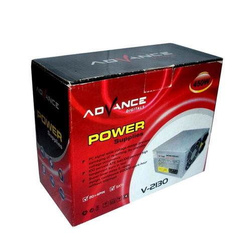 Foto Produk Psu Advance 450W Power Supply 450 Watt V-2130 dari PojokITcom Pusat IT Comp