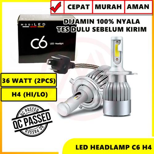 Foto Produk LED C6 H4 COB UNIVERSAL PLUG N PLAY SANGAT TERANG ISI 2PC dari Modifikasi Market