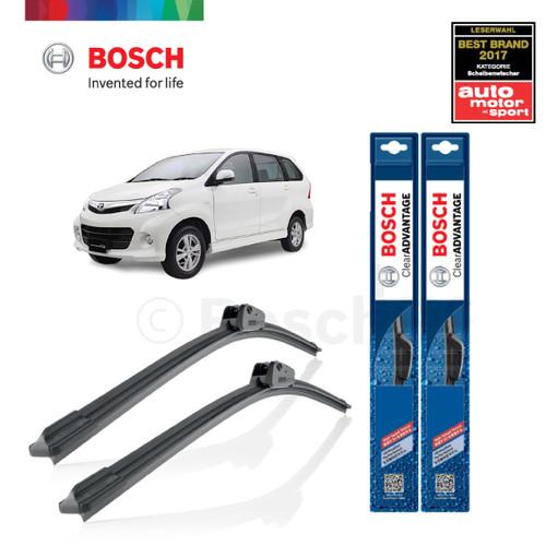 Foto Produk Wiper Mobil Frameless Avanza 2004-2012 Sepasang Bosch ClearAdvantage dari BOSCH Automotive