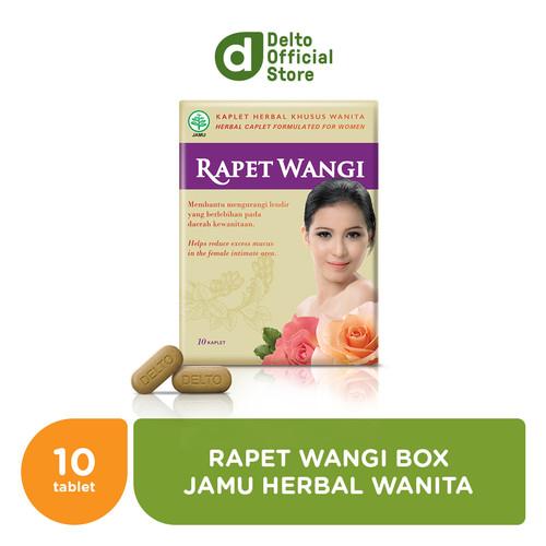 Foto Produk Rapet Wangi Box (1 strip isi 10 butir) - Jamu Herbal Wanita dari Deltomed Store