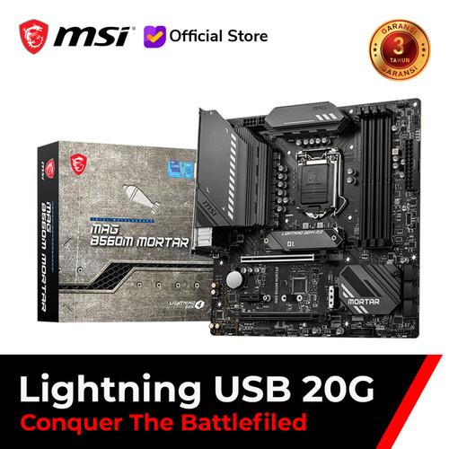 Foto Produk MSI MAG B560M MORTAR [mATX   LGA 1200   Gen 11] - +i5-10400F dari MSI Shop ID