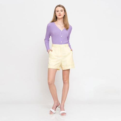 Foto Produk Chocochips - Helma Cardigan Lilac/ Outer Rajut dari Chocochips Official Shop