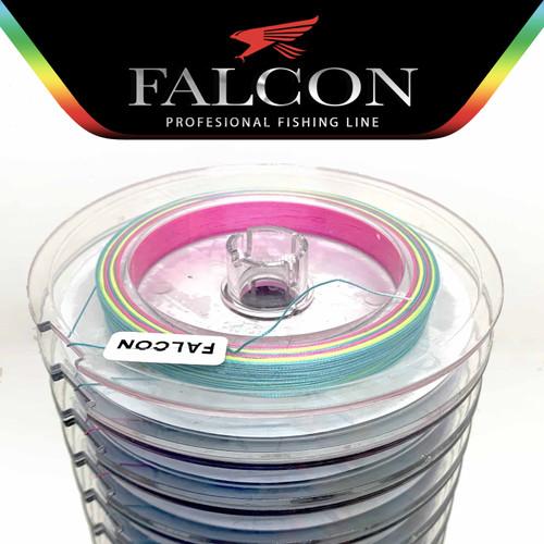 Foto Produk Senar Pancing PE X8 Falcon Uni Cord 100M connecting - Multi, Pe 0.6 dari Falcon Indoesia