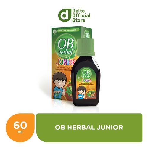 Foto Produk OB Herbal Junior 60ml - Meredakan Batuk dan Menghangatkan Tenggorokan dari Deltomed Store