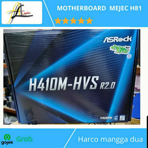 Foto Produk Motherboard H410 asrock H410M-HVSr2.0 dari AL computerr