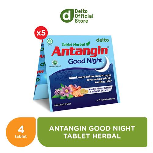 Foto Produk Antangin Good Night Tablet Herbal (5 Strips isi 4 tab) dari Deltomed Store