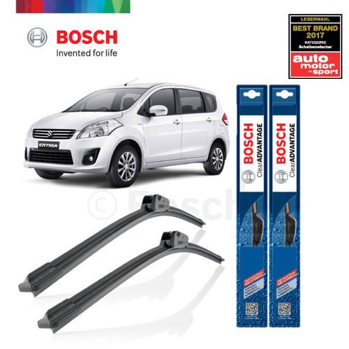 Foto Produk Wiper Mobil Frameless Suzuki Ertiga Sepasang Bosch Clear Advantage dari BOSCH Automotive
