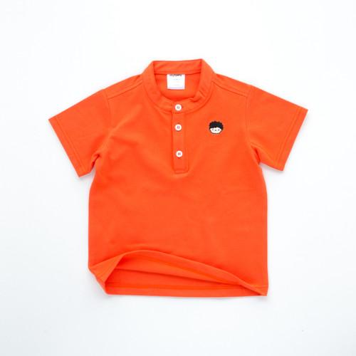 Foto Produk HEYTIMMY Kaos Polo Anak Lengan Pendek Kerah Koko - Paolo - Orange, 7-8 tahun dari HEYTIMMY