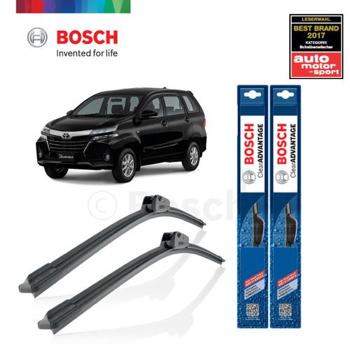Foto Produk Wiper Mobil Frameless Toyota New Avanza 2013-on Bosch Clear Advantage dari BOSCH Automotive