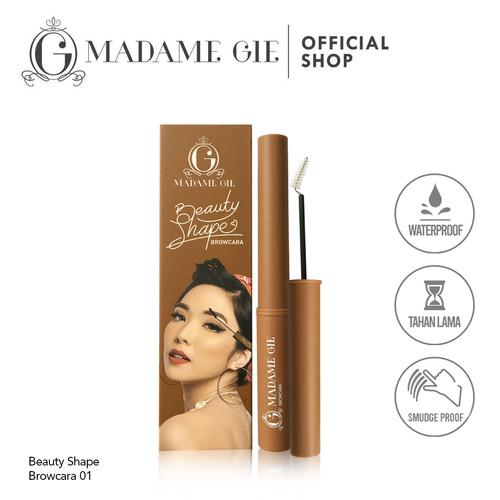 Foto Produk Madame Gie Beauty Shape Browcara - MakeUp Mascara Alis - Brow Cara 02 dari Madame Gie Official