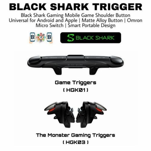 Foto Produk BLACK SHARK TRIGGER GAMING HOLDER GAMEPAD Mobile Game Shoulder Button - HGK03 dari b2b mobile