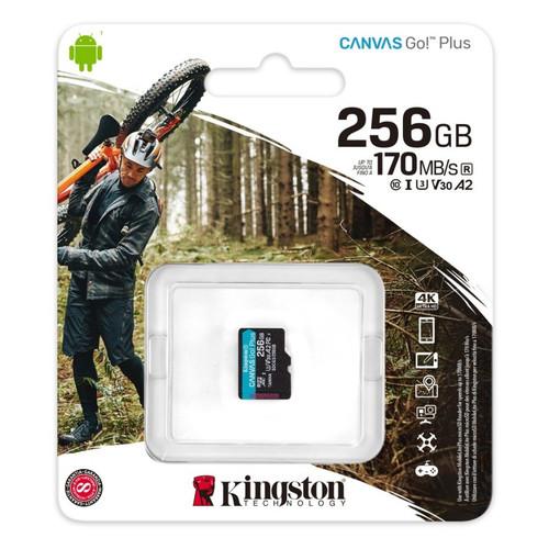 Foto Produk Micro SD Kingston Canvas 256gb GO Plus 4K 256 gb Memory Card MicroSD dari PojokITcom Pusat IT Comp