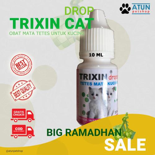 Foto Produk Obat Mata Kucing TRIXIN Atasi Iritasi Belekan Dan Hidung Meler dari Atun Petshop