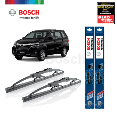 Foto Produk Wiper Mobil Toyota New Avanza (2013-on) Sepasang Bosch Advantage dari BOSCH Automotive