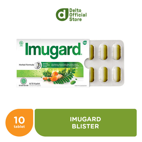 Foto Produk Imugard 1 Blister isi 10 Kaplet dari Deltomed Store