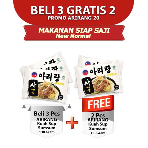 Foto Produk ARIRANG KUAH SUP SUMSUM 130g Beli 3 pcs FREE 2 pcs (AR20) dari Arirang Official Store