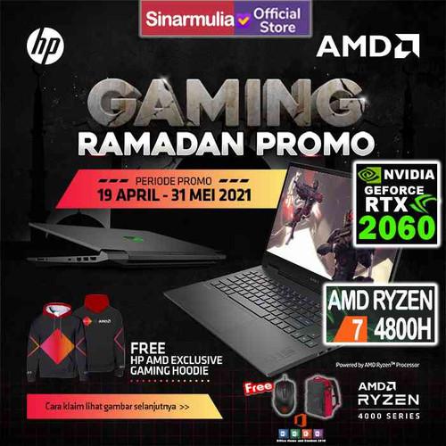 Foto Produk HP OMEN 15-en0013AX RYZEN 7-4800H 512GB SSD 144hz 16GB RTX 2060 6GB dari Sinarmulia Sukses Makmur