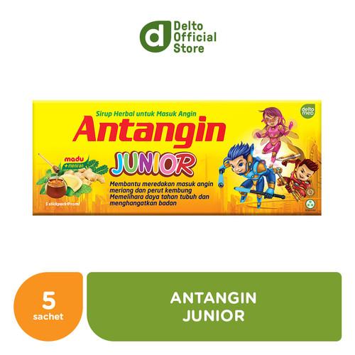 Foto Produk Antangin Junior Box (5 sachet) - Mengatasi Masuk Angin dari Deltomed Store