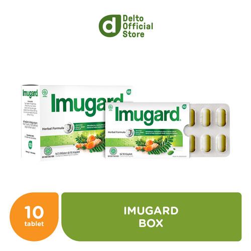 Foto Produk Imugard Box (3 blister isi 10 kaplet) dari Deltomed Store