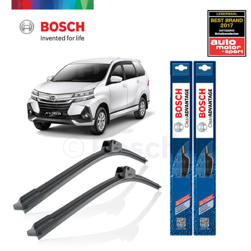 Foto Produk Wiper Mobil Frameless Daihatsu New Xenia Bosch Clear Advantage dari BOSCH Automotive
