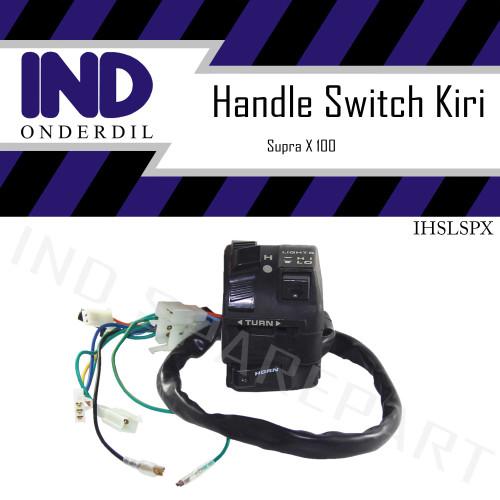 Foto Produk Holder-Handle Saklar-Switch Kiri-Left Supra X 100 Lama/Supra Fit Old dari IND Onderdil