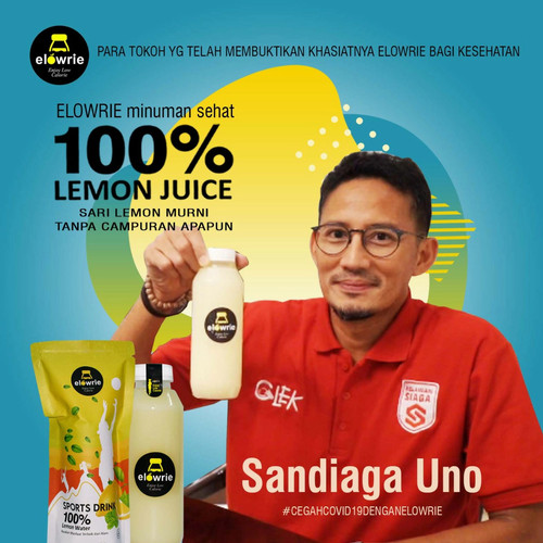 Foto Produk SUPER PROMO Sari Jeruk Lemon 500ml/ Diet / ELOWRIE (100% Jeruk Lemon) dari Aljabar Project