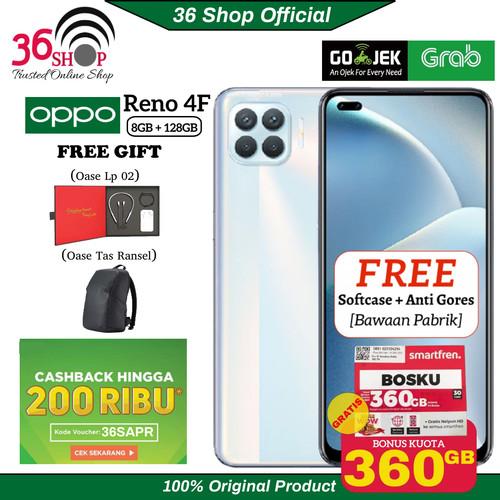 Foto Produk Oppo Reno 4F 8GB+128GB Garansi Resmi - Matte Black dari 36shop
