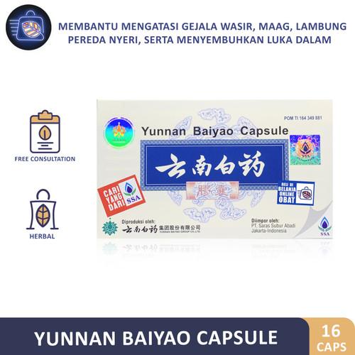 Foto Produk YUNNAN BAIYAO CAPSULE // Antibiotik pendarahan luar dan dalam dari Belanja Online Obat