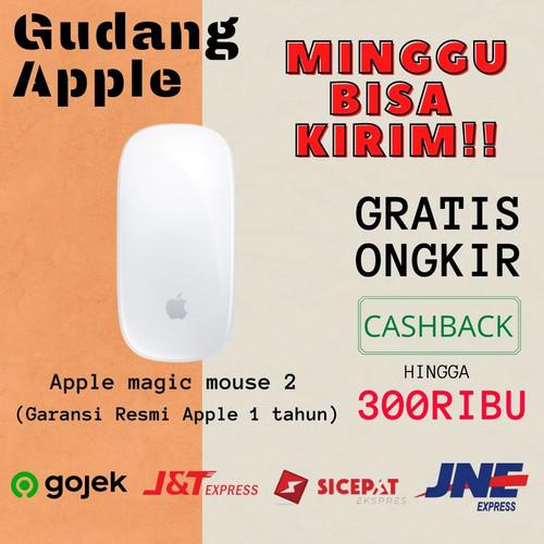 Foto Produk Apple Magic Mouse 2 - WHITE dari GudangApple_