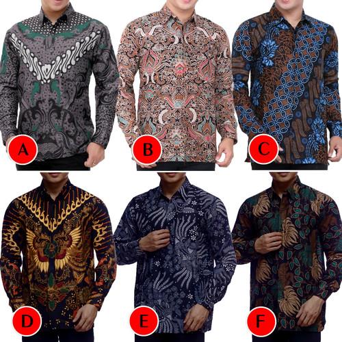 Foto Produk Kemeja Batik Pria Murah Lengan Panjang | Baju Batik Pria | Kemeja Pria dari Pitoo Batik