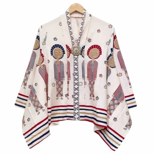 Foto Produk blouse batwing batik karakter bu broto dari Batik Sri