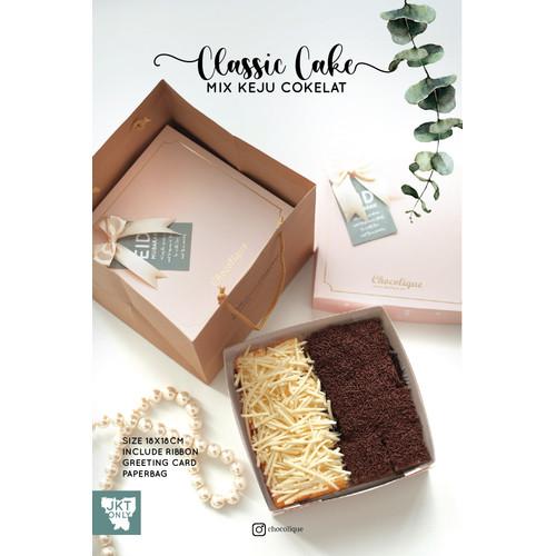 Foto Produk Bolu Mix Coklat Keju dari Chocolique