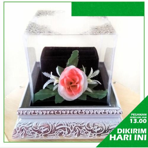 Foto Produk Kotak Hantaran Seserahan Tempat Cincin Frame - Putih dari Kotak Seserahan Dolpin