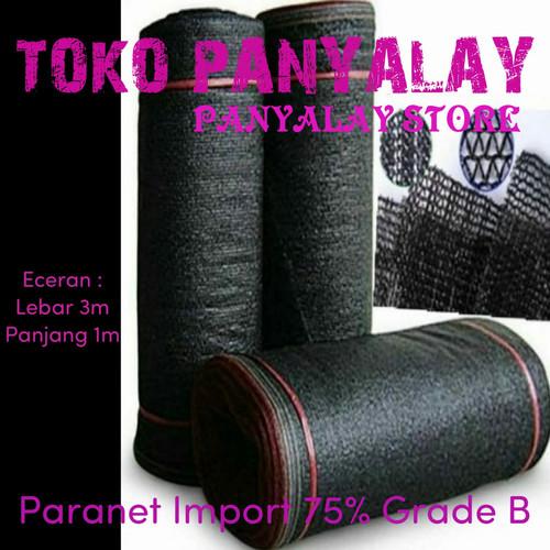 Foto Produk Jaring paranet 75% Eceran L: 3m dari TOKO PANYALAY