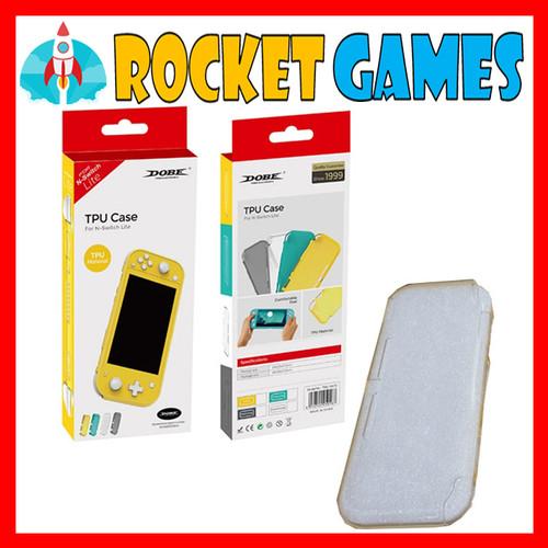 Foto Produk Nintendo Switch Lite DOBE TPU Case TNS-19072 (Crystal Case/Transparan) dari Rocket games
