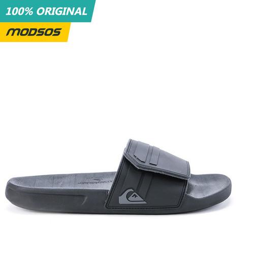Foto Produk Sandal Pria Quiksilver Black Grey Slide 81 Original dari Modsos